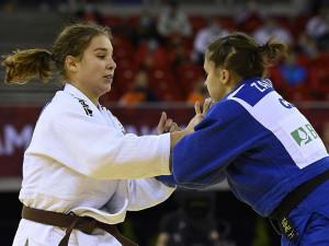 Özbas Szofinak (19) nem sok hiányzott a bronzéremhez  Forrás: MTI / Kovács Tamás