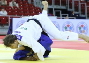 Gőz Roland (fehérben) is kiesett a verseny harmadik fordulójában Forrás: MTK Budapest