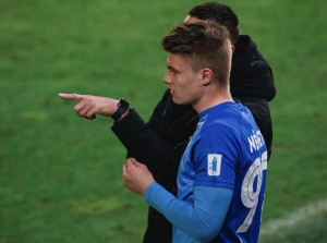 Németh Dániel (17) a MOL Fehérvár ellen debütált a Zalaegerszeg csapatában Fotó: Horváth Krisztián/ZTE FC