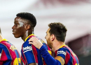 Ilaix Moriba rendszeres lehetőséget kap Barcelonában Forrás: Soccer Laduma