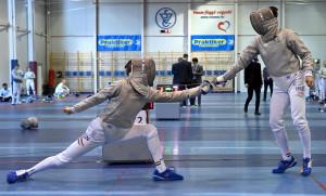Az ifjúsági olimpiai bajnok Rabb Krisztián is hozzátett a Vasas tarolásához Forrás: hunfencing.hu