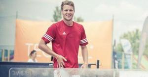 Blázsovics Ádámék azt szeretnék, ha egyre több fiatal választaná a teqballt Forrás: sportagvalaszto.hu