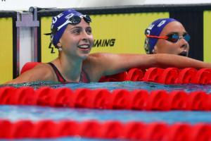 Fábián Bettina két bronzérmet is nyert a felnőtt ob-n Forrás: MÚSZ