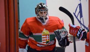 Halász Béni csapata legjobbja volt a hétvégi NAHL-meccsen Fotó: Dobos Sándor/MJSZ