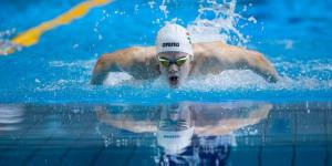 Kós Hubert a legesélyesebb utánpótláskorú úszó a felnőtt ob Fotók: Derencsényi István/MÚSZ
