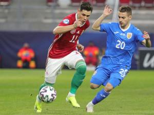 Skribek Alen kezdőként bizonyíthatott a románok ellen Fotó: Török Attila/Nemzeti Sport