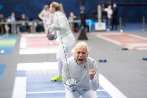 Pusztai Liza bronzérmes a budapesti kard-világkupaversenyen Forrás: hunfencing.hu