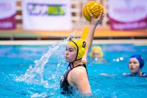 A 16 éves Szegedi Panni a negyeddöntőben is gólokkal segítette az UVSE-t Fotó: Varga Jennifer/UVSE