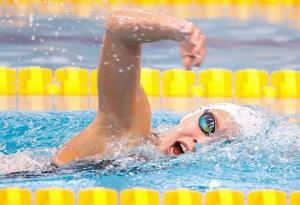 Veres Laurát megszorongatni sem lehetett 200 m gyorson Fotó: Derencsényi István/MÚSZ