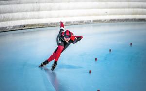 Az ifjúsági olimpikon Bíró Hanna ebben az évadban nem léphetett jégre világversenyen Fotó: MOKSZ