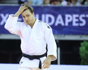 Gőz Roland helytállt izraeli riválisával szemben Forrás: MTK Budapest