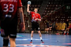 Lukács Péter eredményesen mutatkozott be a BL-ben Fotó: Vörös Dávid/Telekom Veszprém