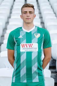 Szalka Máté (19) az őszi szezon legeredményesebb játékosa volt az U19-ben. Forrás: eto.hu