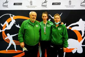 Balról jobbra: Máté Alpár, Kriszt Sarolta, Körmendy Katalin. Forrás: GEAC Facebook