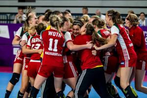 A két éve Eb-győztes juniorválogatott is edzőtáborozik Forrás EHF