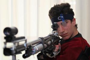 Rescsik Csaba az idén újabb juniorvilágcsúcsokat lőtt Fotó: Bodrogi Tamás