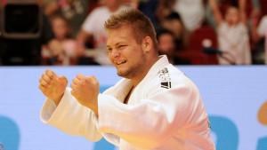 Sipőcz Richárd (20) remélhetőleg májusban Kazanyban újra tatamira léphet Forrás: Czagány Balázs / MTI
