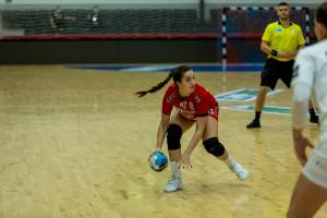 Szabó Nina volt az NB I legeredményesebb up-korú játékosa a múlt héten Forrás: Kisvárda KC