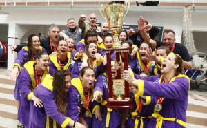 Megfiatalítva is a hazai trónon maradt az UVSE női csapata Fotó: Kovács Anikó/MVLSZ
