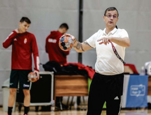 Pásztor István az ifjúsági válogatott edzőjeként is dolgozik Fotó: Mirkó István/Magyar Nemzet