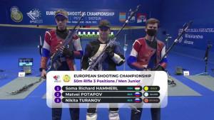 Hammerl Soma korosztályos világcsúccsal lett junior Európa-bajnok Forrás: ISSF