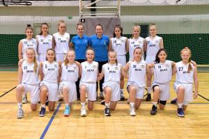 """A BEAC serdülő """"A"""" csapata a végső győzelemre pályázik a nyolcas fináléban Forrás: BEAC-Újbuda"""