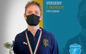A tőröző Tóth Gergő a második helyen végzett a felnőtt Európa-bajnoki válogatón Forrás: Törekvés SE
