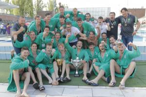 Az FTC bajnok ificsapata Fotó: Dobos Sándor
