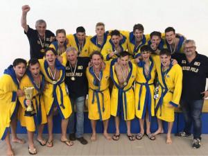 Az évadban legyőzhetetlen KSI nyerte a serdülőbajnokságot Forrás: waterpolo.hu