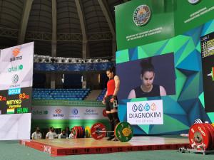 Mitykó Veronika két kilóval maradt el legjobbjától Forrás: IWF