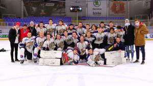 A Vasas U21-es csapata bajnoki bronzéremnek örülhetett Forrás: MJSZ