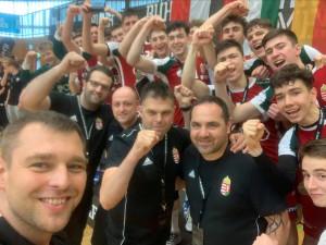 A serdülőválogatott remek játékkal lett első a Ruhr Games nemzetközi tornán