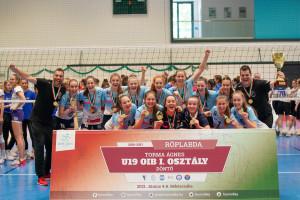 A Linamar-BRSE U19-es csapata hazai pályán nyerte meg a korosztályos országos bajnoki döntőt Forrás: BRSE