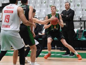 Hanga Ádám után Maronka Zsombor lehet a második magyar kosaras, akit NBA-csapat draftol Forrás: EYBL
