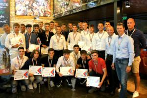 Az U19-es gárda a második helyet szerezte meg Forrás: Vasas Kubala Akadémia
