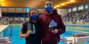 Betlehem Dávid és Veres Laura lett a két legjobb versenyző az ifi ob-n Forrás: MÚSZ