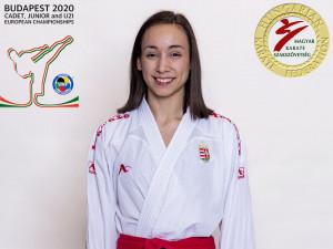 Ilankovic Aleksandra közel járt az olimpiai kvótához Forrás: karate.hu