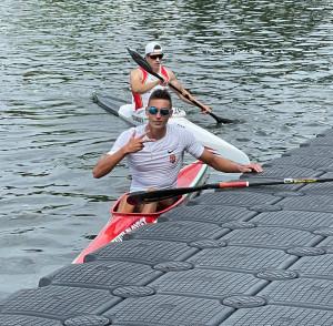 A 18 éves Kurucz Levente elképesztő triplája: 200, 500 és 1000 méteren is nyert kajakegyesben Forrás: MKKSZ