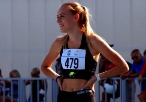 Molnár Janka 400 m gáton és a 4x400-as váltóban indul Fotó: Tom Sch