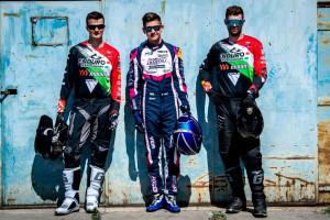 Balról Zsigovits Norbert, Vida Benedek, Szőke Márk Forrás: Motorsport Talent Management