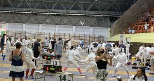 Nagyjából hatszáz fiatal párbajtőröző részvételével rendezték meg az Olimpici országos bajnokságot Keszthelyen Forrás: hunfencing.hu