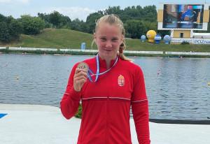 Az ifjúsági olimpiai bajnok Rendessy Eszter az U23-asok között nyert Poznanban Forrás: MKKSZ