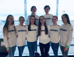 A magyar küldöttségből a juniorválogatott érkezett elsőként Bulgáriába Forrás: RG-info-Hungary
