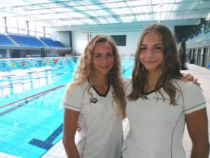 Fábián Bettina (balra) és Pádár Nikoletta a római junior Eb-n vitte tovább a szegedi sikertörténetet