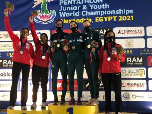 Junior-világbajnok a magyar női csapat Forrás: pentathlon.hu