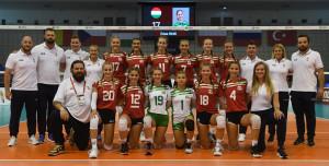 Két győzelem és két vereség a magyar serdülő lányok eddigi mérlege az Eb-n Forrás: MRSZ