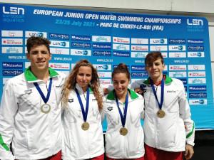 Magabiztosan győzött az U19-es mixváltó Forrás: MÚSZ