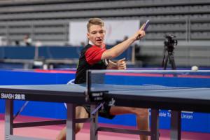 András Csaba párosban bronzérmesként zárt Varasdon Fotó: Zlatko Lugaric / ETTU