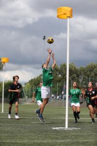Akcióban a magyar csapat Fotó: Marco Spelten / actiefotografie.nl (a Magyar Korfball Szövetség engedélyével)