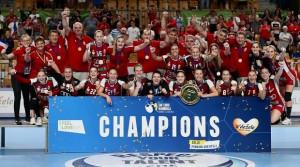 A harmadik Eb-aranyérmét nyerte a mostani juniorgeneráció Fotó: Cseh Péter/MKSZ